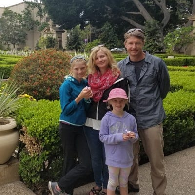 Phil Drotar with his family