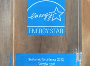 Partner of the Year - Sustained Excellence Award 2012 EnergyLogic