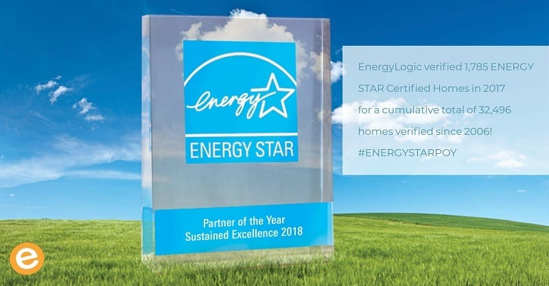2018 ENERGY STAR Partner of the Year Sustained Excellence EnergyLogic