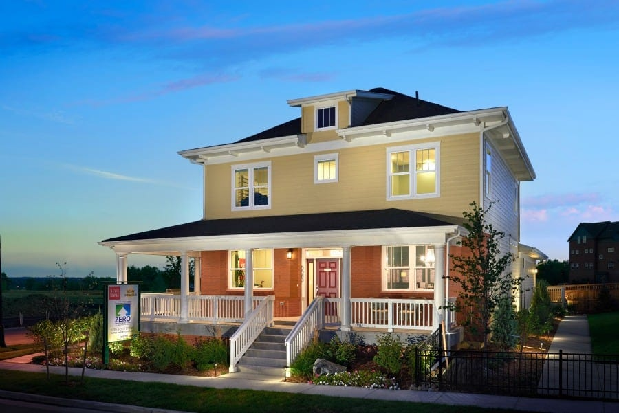Thrive Home Builders ENERGY STAR LEED v4 Home