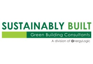 Sustainably Built Logo - for Our Journey timeline
