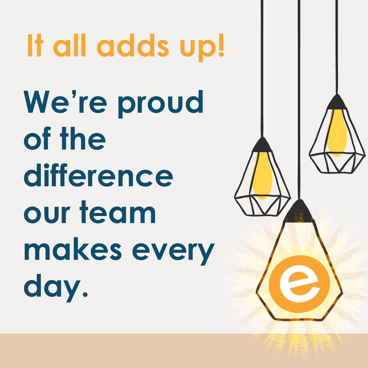 We're proud of the difference the EnergyLogic team makes every day.
