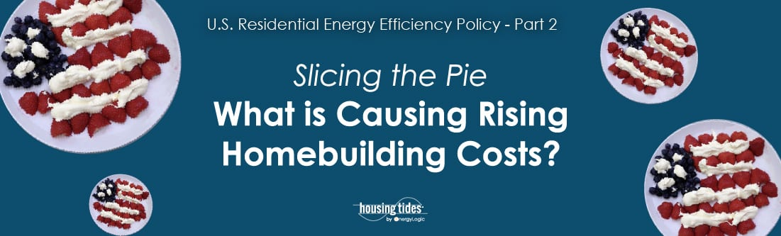 What is causing rising homebuilding costs?