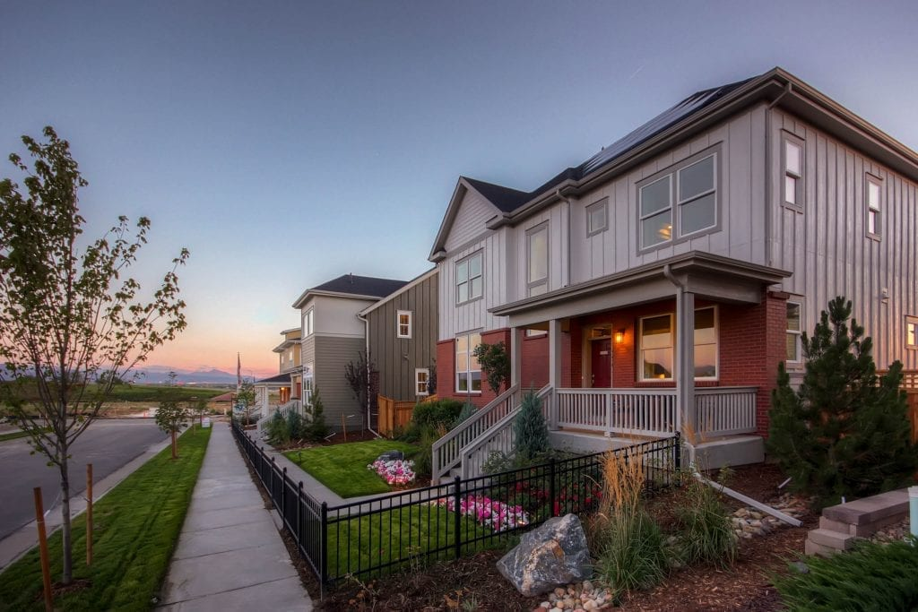 Homebuilders such as Thrive are sustainable building leaders.